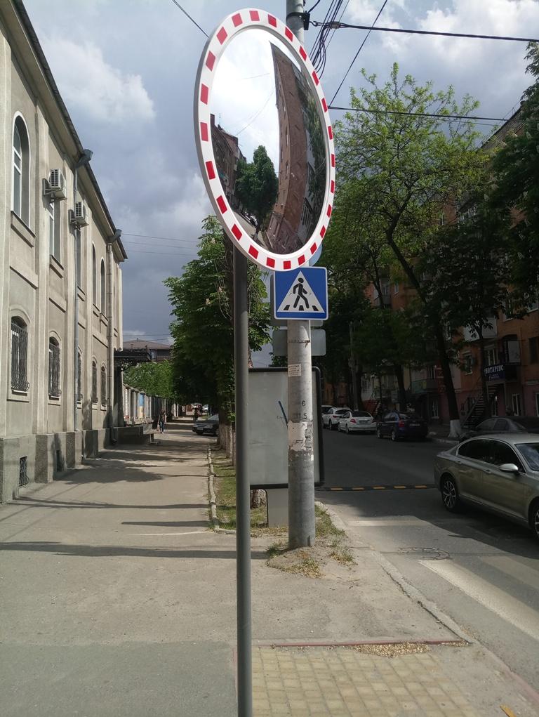 У Кропивницькому встановили дорожнє дзеркало. ФОТО - 4 - За кермом - Без Купюр
