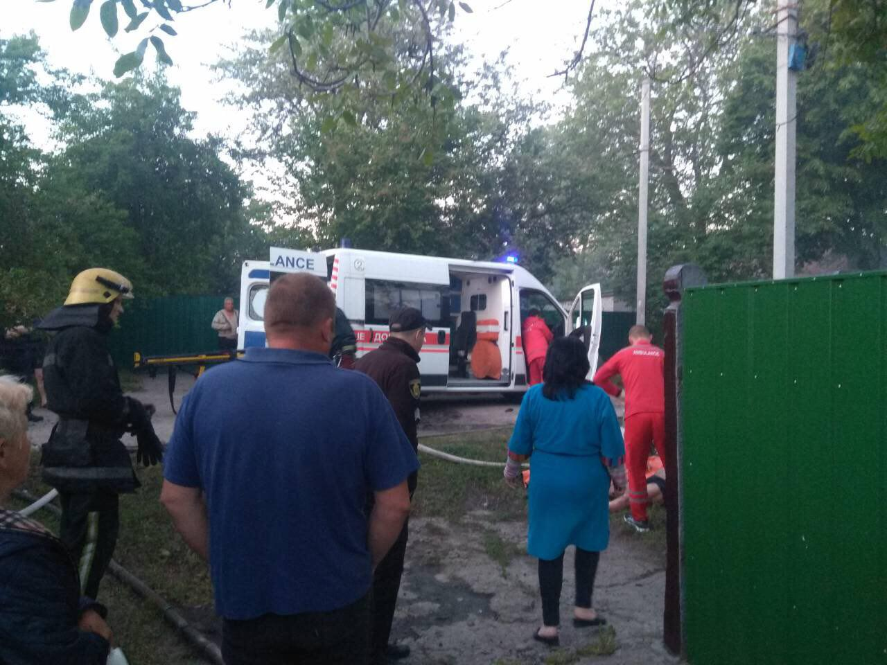 Без Купюр У Світловодську на місці пожежі знайшли тіло жінки Життя  пожежа Кіровоградщина ДСНС
