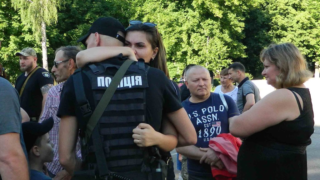 Рота «Святослав» вирушила у зону проведення Операції Об'єднаних сил. ФОТО - 5 - Життя - Без Купюр