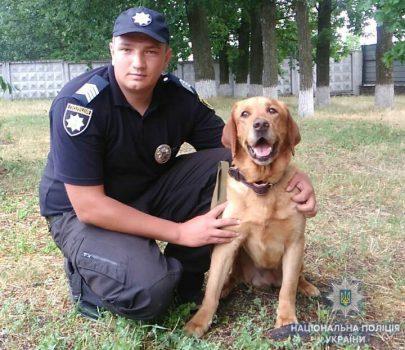 На Кіровоградщині службовий собака допоміг знайти засудженого-втікача