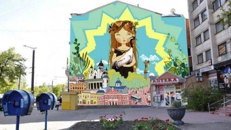 У центрі Кропивницького може з'явитися стінопис площею 150 квадратних метрів. ФОТО