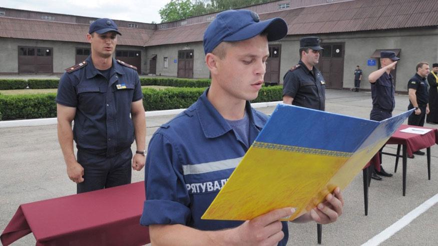 Без Купюр Кіровоградщина: майбутні рятувальники склали присягу. ФОТО Події  рятувальники Кропивницький