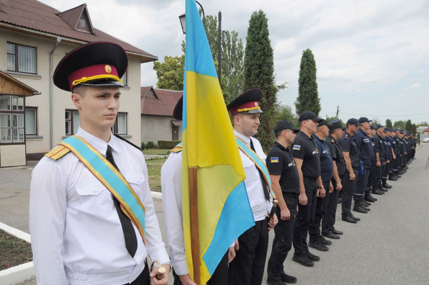 Кіровоградщина: майбутні рятувальники склали присягу. ФОТО - 2 - Події - Без Купюр