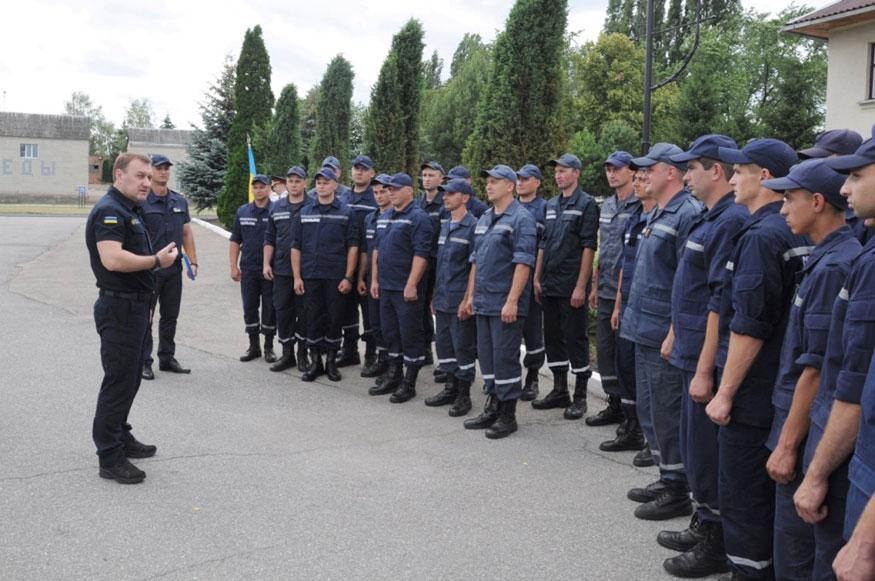 Кіровоградщина: майбутні рятувальники склали присягу. ФОТО - 4 - Події - Без Купюр