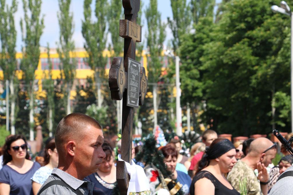 У Кропивницькому провели в останню дорогу Ігора Французана, який загинув у бою. ФОТО 8