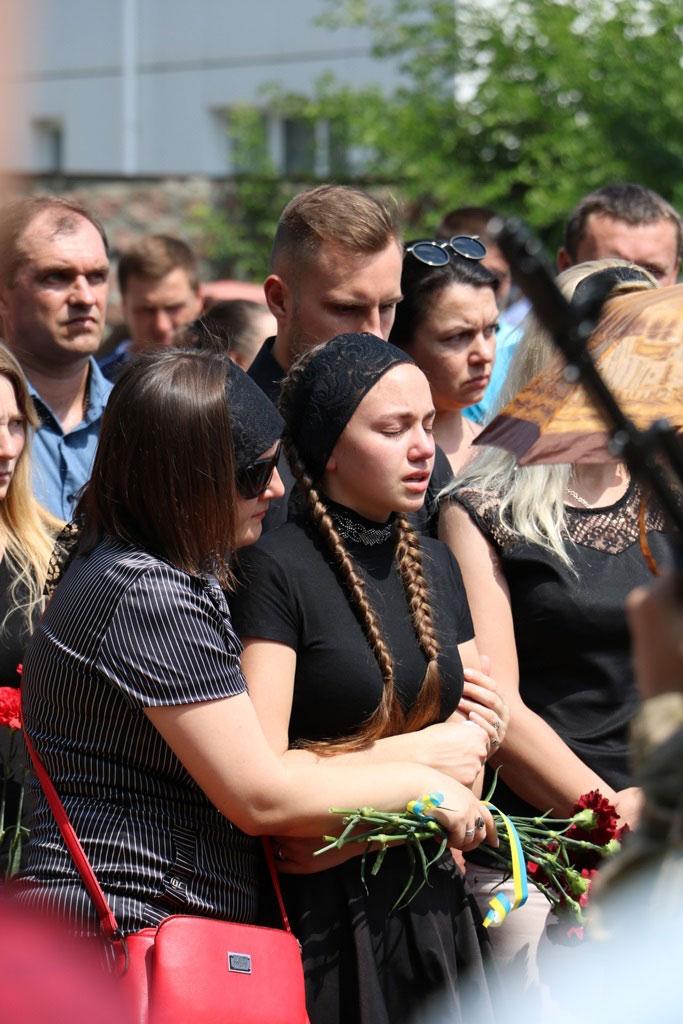 У Кропивницькому провели в останню дорогу Ігора Французана, який загинув у бою. ФОТО 7