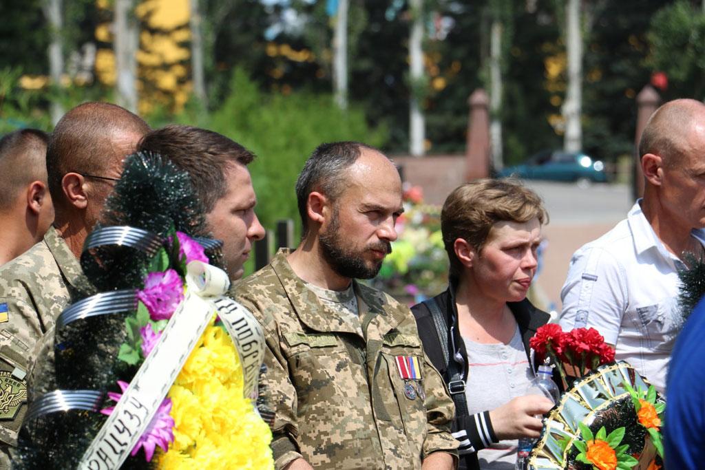 У Кропивницькому провели в останню дорогу Ігора Французана, який загинув у бою. ФОТО 11