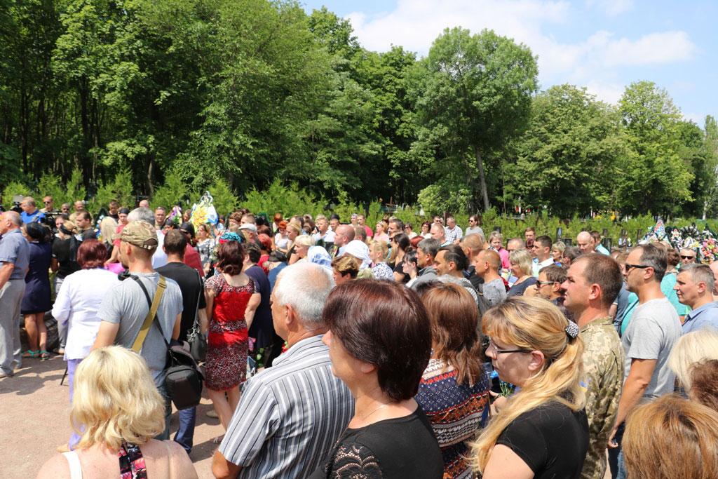 У Кропивницькому провели в останню дорогу Ігора Французана, який загинув у бою. ФОТО 12