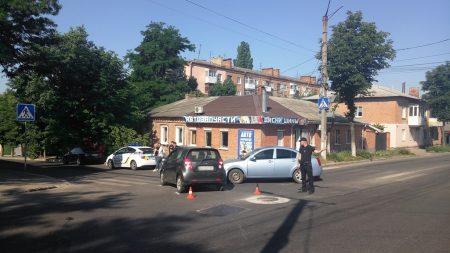 У Кропивницькому на проблемному перехресті чергова ДТП. ФОТО
