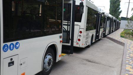 Графік руху автобусних спецрейсів в Олександрії