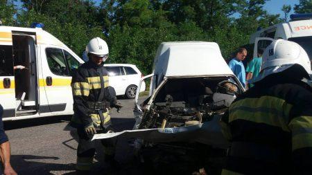 На Кіровоградщині у ДТП постраждало 4 особи. ФОТО