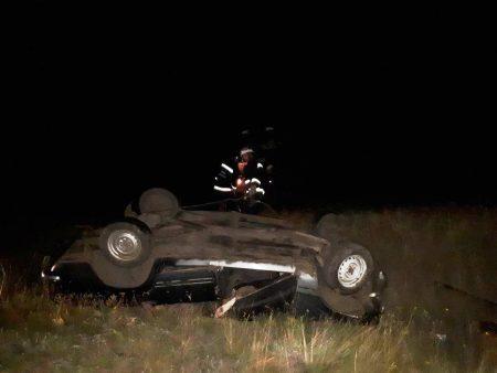 У Долинському районі перекинувся ВАЗ 2101, водій загинув. ФОТО