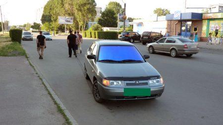 В Олександрії на пішохідному переході автомобіль збив дівчинку. ФОТО