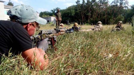 Діти з Кіровоградщини пройшли тижневий вишкіл у таборі Української добровольчої армії. ФОТО