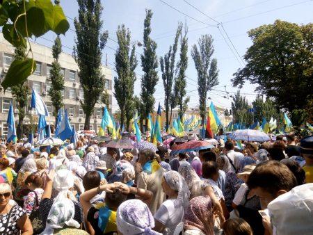 Півтори тисячі представників Кіровоградщини побували на хресній ході в Києві