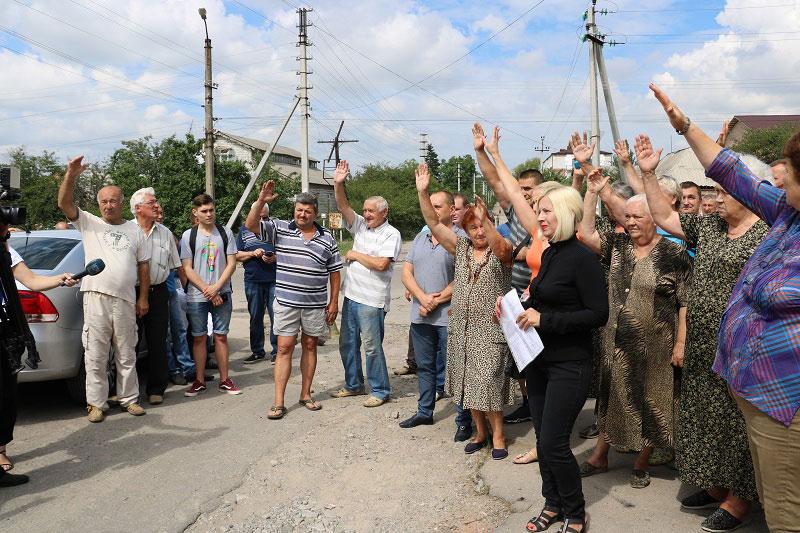 Шість метрів і не більше: жителі вулиці Бабушкіна все ще проти розширення дороги