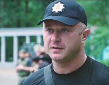 Екс-начальник поліції Кіровоградщини у складі ООС служить на Донбасі. ВІДЕО