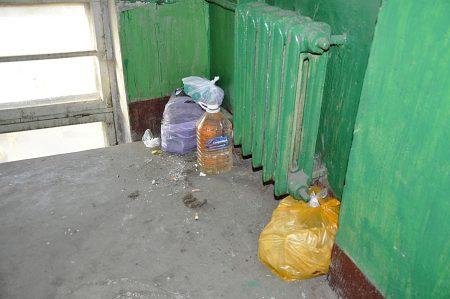 У Спецінспекції Кропивницького провчили ледацюг, які виносили сміття під сусідній будинок