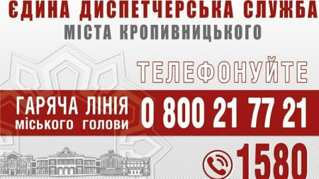На муніципальній «гарячій лінії» чергуватиме заступниця головного архітектора Кропивницького