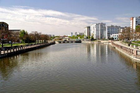 Інгул в центрі Кропивницького на деякий час обміліє