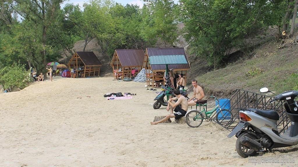 Без Купюр В Олександрії відкрили муніципальний пляж. ФОТО Події  Олександрія муніципальний пляж Кіровоградщина