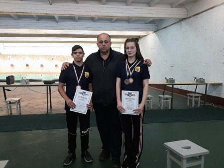 Спортсмени з Кропивницького вибороли медалі на чемпіонаті України з кульової стрільби