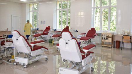 На завершення ремонту станції переливання крові у Кропивницькому треба ще 3 мільйона