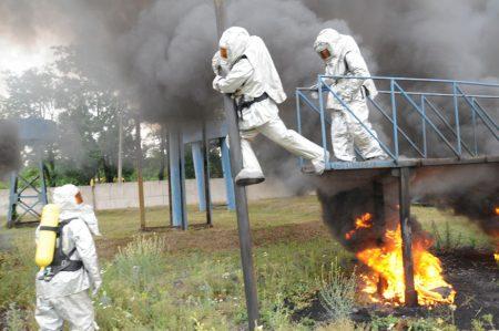 У Кропивницькому відбулось тренування рятувальників на смузі психологічної підготовки