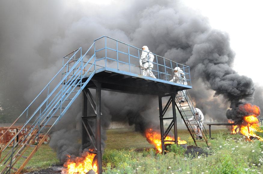 Без Купюр У Кропивницькому відбулось тренування рятувальників на смузі психологічної підготовки Життя  рятувальники Кропивницький ДСНС