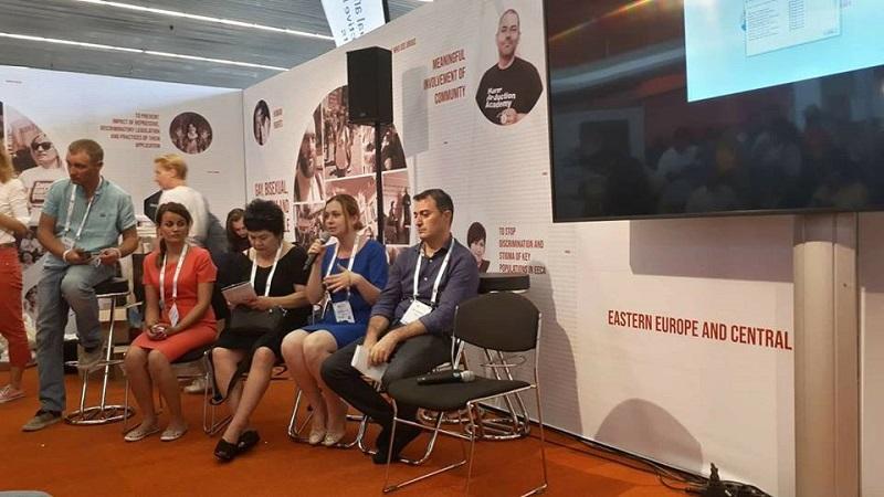 """Кропивничанки взяли участь у конференції """"AIDS 2018"""" в Амстердамі, разом із Елтоном Джоном та іншими зірками - 1 - Події - Без Купюр"""