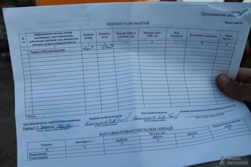 Фурам з львівськими номерами заборонили вивантажити сміття на полігоні в Олександрії. ФОТО 3 - Події - Без Купюр