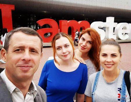 """Кропивничанки взяли участь у конференції """"AIDS 2018"""" в Амстердамі, разом із Елтоном Джоном та іншими зірками"""
