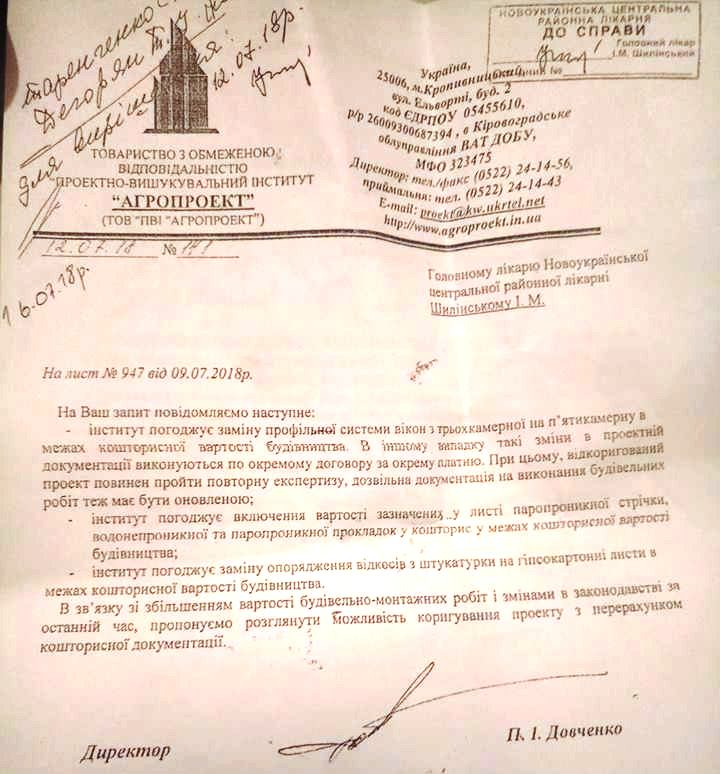 На Кіровоградщині після укладення договору підрядник запропонував зміни - ДАБІ почала перевірку. ФОТО - 1 - Найважливiше - Без Купюр