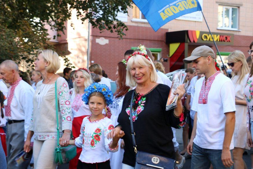 Кропивницький у вишиванках - 2018. ФОТОРЕПОРТАЖ - 2 - Життя - Без Купюр