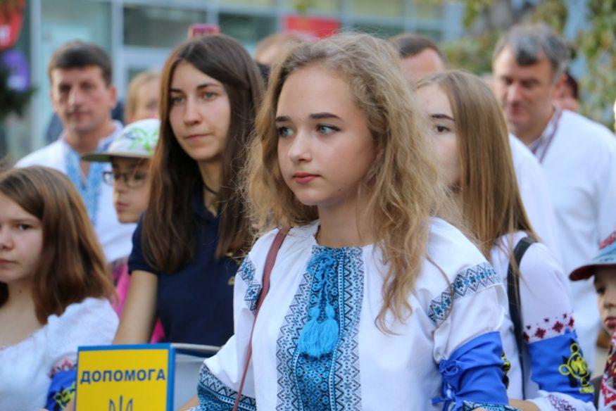 Кропивницький у вишиванках - 2018. ФОТОРЕПОРТАЖ - 8 - Життя - Без Купюр