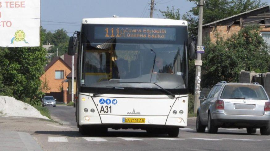 """Графік та схема руху автобусів КП """"Електротранс"""" на відновленому маршруті 111-А обласного центру - 1 - Транспорт - Без Купюр"""
