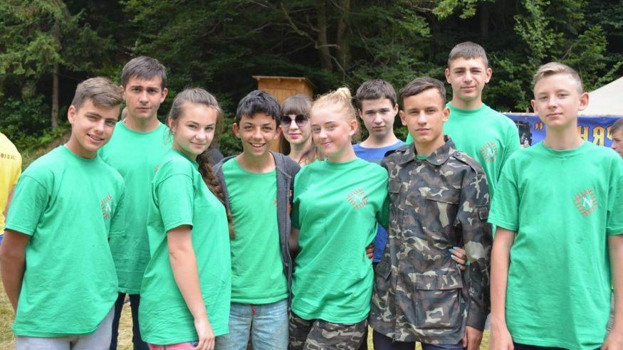 Тамара Кшановська | Позитив | Молодь із Кіровоградщини взяла участь у національно-патріотичному, військово-спортивному вишколі в Карпатах 1