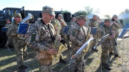 Оркестр 3-го полку візьме участь в офіційних урочистих заходах до Дня незалежності України в Києві