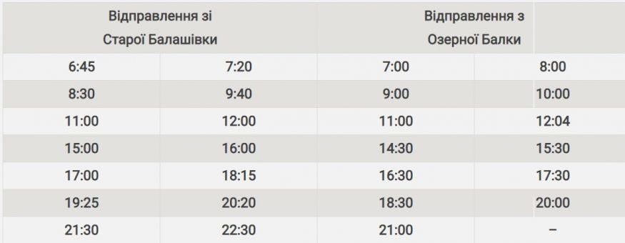 """Графік та схема руху автобусів КП """"Електротранс"""" на відновленому маршруті 111-А обласного центру - 2 - Транспорт - Без Купюр"""