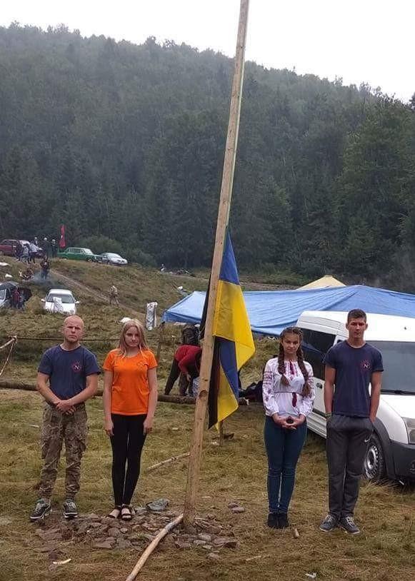 Тамара Кшановська | Позитив | Молодь із Кіровоградщини взяла участь у національно-патріотичному, військово-спортивному вишколі в Карпатах 2