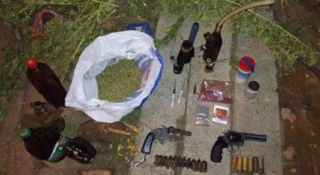Мешканець Кіровоградщини  зберігав вдома наркотики та зброю
