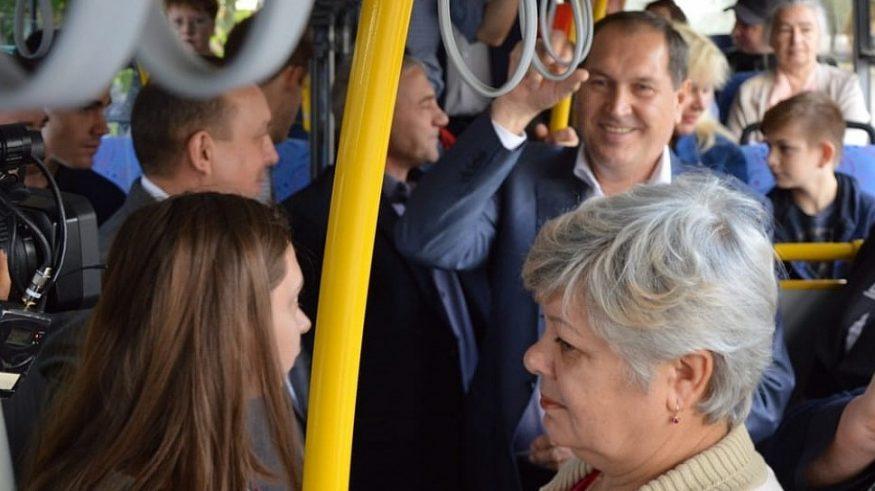 Без Купюр У Кропивницькому вивчать доцільності коригування автобусного маршруту №46 Події  маршрут 46 Кропивницький