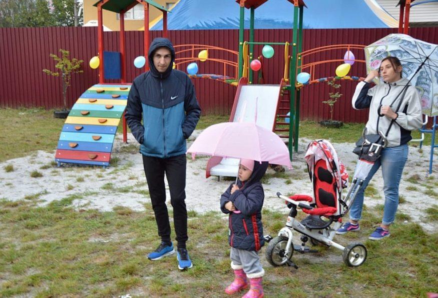 Без Купюр У Кропивницькому відкрили дитячий майданчик та перерізали червону стрічку Життя  Кропивницький дитячий майданчик