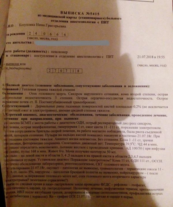 Без Купюр Комісія вважає, що підприємство, працівниця якого потрапила до реанімації, винне тільки в тому, що не забезпечило перчатками Головне  управління Держпраці Три Стар Ніна Козубляка Кропивницький віталій Заніздра