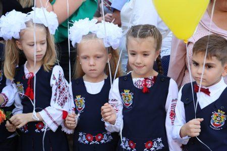 У школах Кропивницького спробували відійти від традиційних лінійок до 1 Вересня. ФОТО