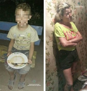Патрульні склали протокол про невиконання батьківських обов'язків на матір, яка вигнала дитину пізно ввечері