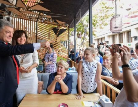 Селфі-тур Порошенка на Дні міст України: відеоогляд