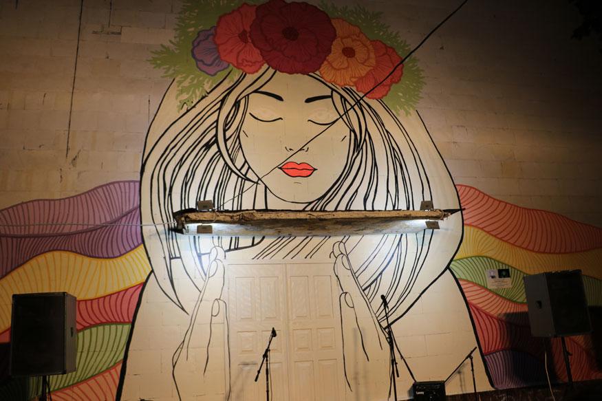 У Кропивницькому з'явився люмінесцентний стінопис «Королева ночі». ФОТО - 1 - Життя - Без Купюр