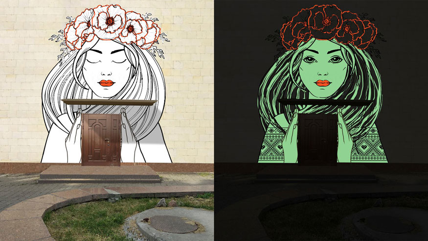 """Сьогодні у Кропивницькому відкриють арт-інсталяцію """"Вуличне піаніно"""" та люмінісцентний мурал. ФОТО"""