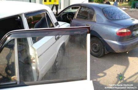 У Кропивницькому водій напідпитку скоїв ДТП. ФОТО